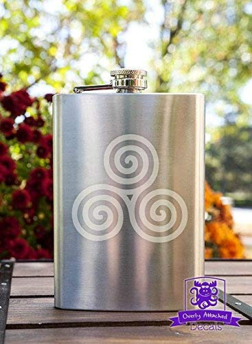 誠実 Celtic Triple Spiral 240ml B0176YWR58 Stainless Steel Flask Flask Triple B0176YWR58, 九度山町:60da0ebe --- shrigajendrajewellers.com