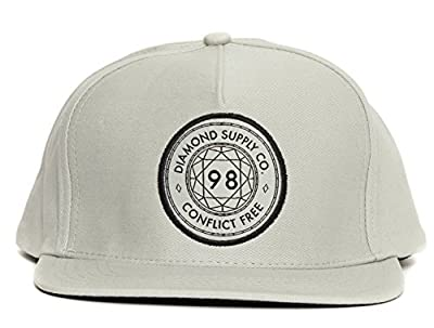Diamond Supply Co Men's Conflict Free Snapback Hat from Diamond Supply Co