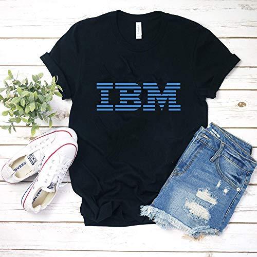 IBM 80s - Blue T-Shirt Hoodie for men woman (Tee Ibm)