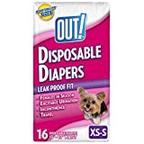 OUT! Disposable Diapers, Small, 16-Count