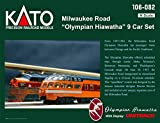 Kato USA Model Train Products N Milwaukee Road