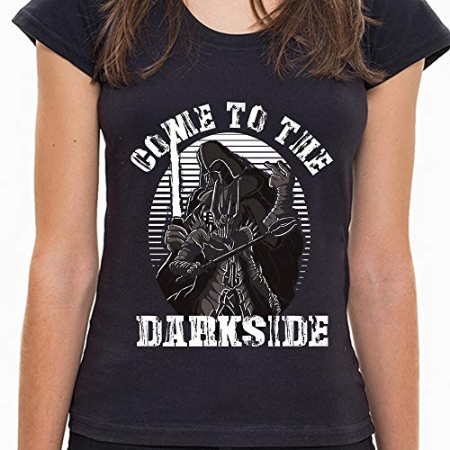 Camiseta Come to The Darkside Feminina 7D45 - Camiseta Come to The Darkside - Feminina - G