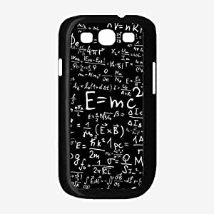 Albert Einstein Math Equations - TPU Rubber Silicone Phone Case Back Cover (Samsung Galaxy S3 I9300)
