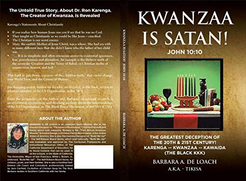 Kwanzaa Is Satan! John 10:10 by Barbara Ann De Loach