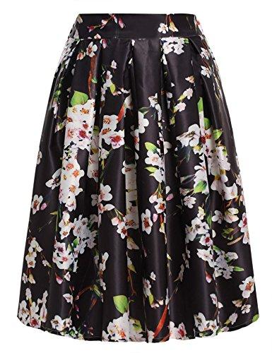 ACEVOG Women's Floral Print...
