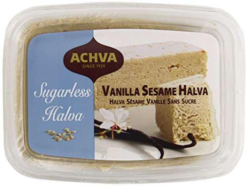 Achva Sugarless Sesame Halva, Vanilla, 10.41 Ounce