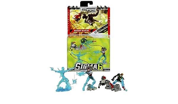Amazon.com: Hasbro Year 2006 G.I. JOE Sigma 6 Mission Manual ...