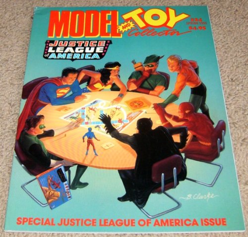 (Model and Toy Collector Magazine Issue #24 (Justice League of America!))