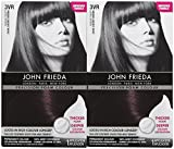 john frieda foam color - John Frieda Precision Foam Hair Colour, Deep Cherry Brown 3VR, 2 pk