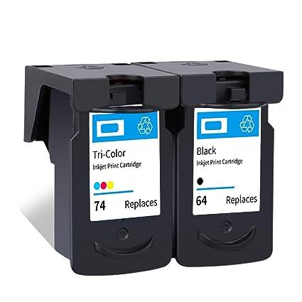 PG64 CL74 - Cartucho de tinta para impresora Canon Pixma ...