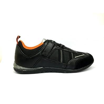 Noir35 Enfant En Pour Chaussures Lamborghini Cuir Noir Baskets 4LR3A5j