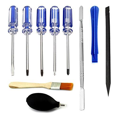 SODIAL 10 in 1 Repair Tools Screwdrivers Set Kit Precision D