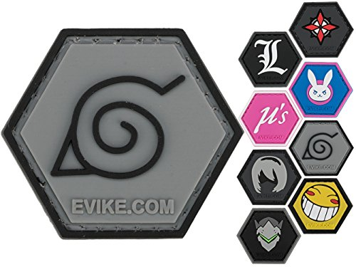 Evike - Operator Profile PVC Hex Patch Geek Parody Series II (Style: Leaf)