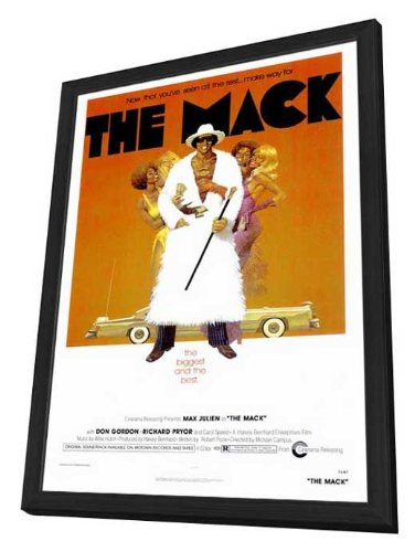 The Mack - 27 x 40 Framed Movie Poster by Movie Posters