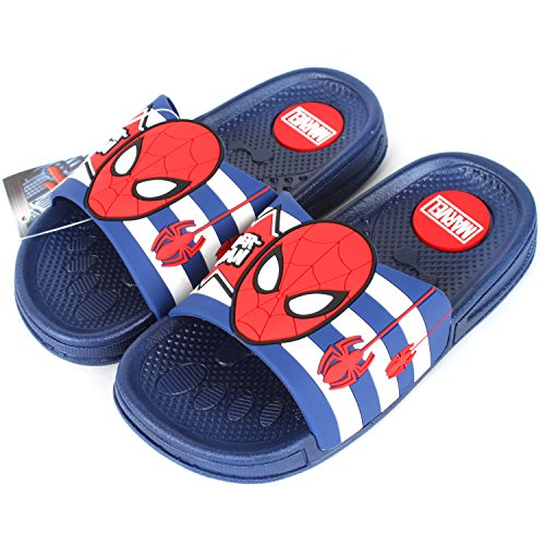 Joah Store Boys Girls Slide Sandals Shoes Spider-Man Star Wars Frozen Elsa Princess Iron-Man Characters