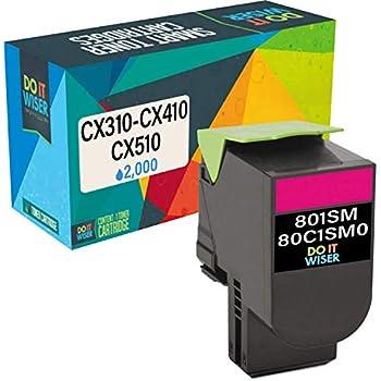Lexmark 80C1SM0 801sm Magenta Standard Yield Tonr Return Program Toner Cartridge
