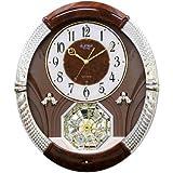 Rhythm Joyful Moment Wall Clock - 14.6-in. Wide