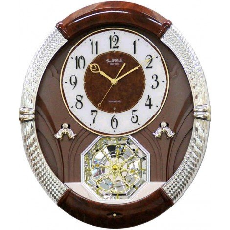 Rhythm Joyful Moment Wall Clock - 14.6-in. Wide