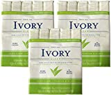 Ivory Soap, Pure Clean, 3.17 oz Bars, 10 each, Pack of 3 (30 Bars Total)