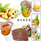Hkbayi 2pieces / set Cooking Tools Lemon Fruit Citrus Lime Orange Stem Sprayer Juice Maker Juicer Kitchen Supplies