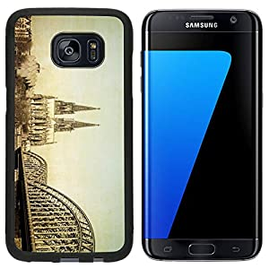 Liili Samsung Galaxy S7 Edge Aluminum Backplate Bumper Snap Case iPhone6 IMAGE ID 31966240 Vintage view of Gothic Cathedral in Cologne Germany