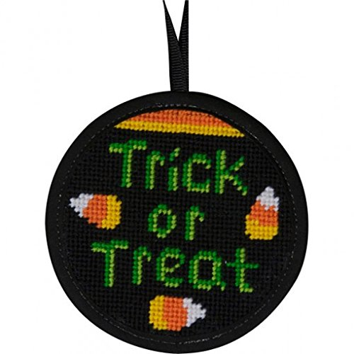 Alice Peterson Stitch-Ups Trick or Treat Needlepoint Ornament Kit -