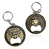 Best Marina corkscrews - U.S. Marine Corps Military Challenge Coin- Army Key Review