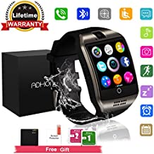 luetooth Smart Watch Touchscreen with Camera,Unlocked Watch Cell Phone with Sim Card Slot,Smart Wrist Watch,Waterproof Smartwatch Phone for Android Samsung IOS Iphone 7 6S Men Women Kids