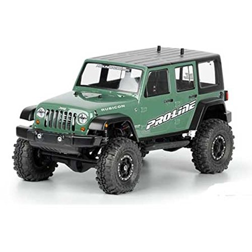(Proline 333600 Jeep Wrangler Unlimited Rubicon Clear Body 12.3