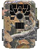 """ZenNutt No Glow Trail & Game Camera, Waterproof Full HD 12MP 1080P Hunting Camera with 2.0"""" LCD Screen & Infrared Night Vision Motion Activated Bestguarder 12 Months Guarantee"""