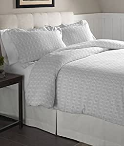 Amazon Com Pointehaven Flannel Oversized Duvet Set Full