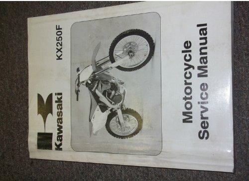 2006 06 Kawasaki KX250F KX 450 F KX250 MOTORCYCLE Service Repair Shop Manual OEM