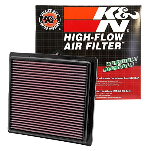 K&N 33-2457 High Performance Replacement Air Filter for 2011 Jeep Grand Cherokee/Dodge Durango 3.6L V6/5.7L V8 reikos_0019438425_tab01_3064