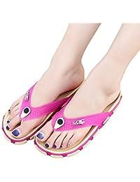 421f5adb1963 Unisex Flip Flop Sandals Summer Beach Slide Flat Slippers Comfortable Flip  Flops for Women Men