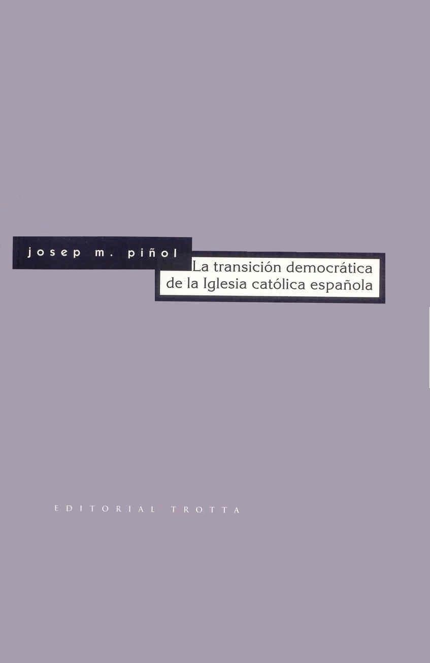 Transición Democrátic De La Iglesia Católica Española ESTRUCTURAS Y PROCESOS - CIENCIAS SOCIAL: Amazon.es: Gaya, Ramon: Libros