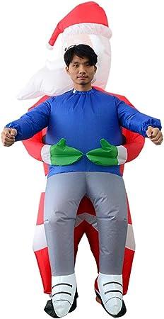 Disfraz de Vaquero Inflable de Papá Noel, Disfraz de muñeco de ...