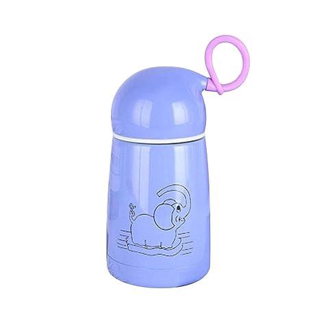 Preciosa botella de termo de elefante Taza de vacío de acero ...
