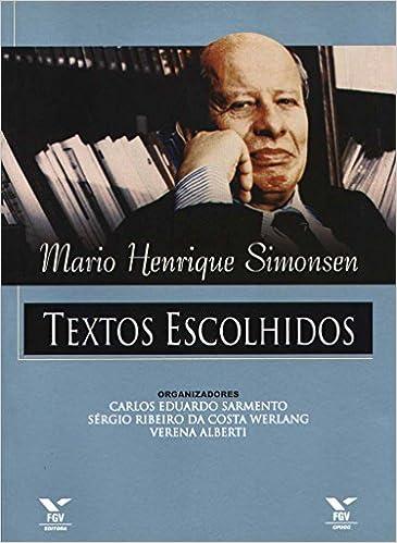 MARIO HENRIQUE SIMONSEN EBOOK