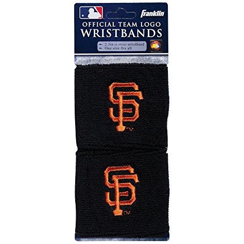 Franklin Sports MLB San Francisco Giants Team Wristbands