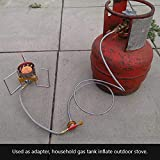 TKSE Outdoor Camping Stove Use Household LPG