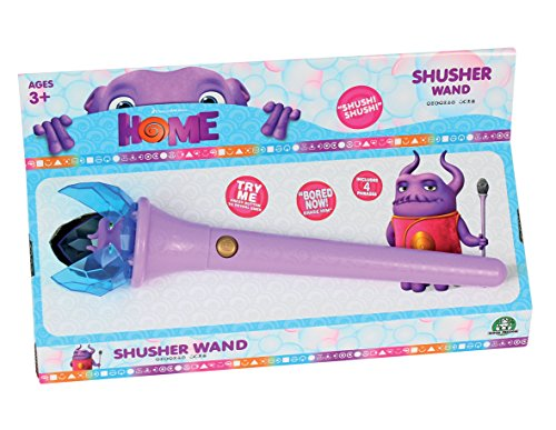 DREAMWORKS 2015 HOME CAPTAIN SMEK ELECTRONIC SHUSHER WAND