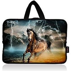 AUPET Universal 7 ~ 8 inch Tablet Portable Neoprene Zipper Carrying Sleeve Case Bag