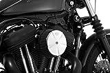 Vance & Hines 71013 Skull Cap Air Cleaner Insert Chrome For Harley-Davidson 1999-2013 Multi Fit (1010-0868)