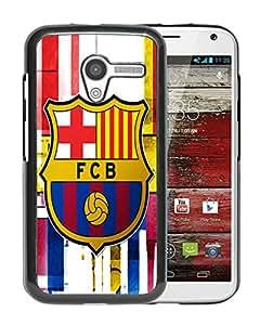 Fashionable Custom Designed Skin Case For Motorola Moto X With Barcelona Black Phone Case 5