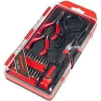 Stalwart 75-HT4025 Precision Electronics, Repair & Hobby Tool Set (25 Piece)
