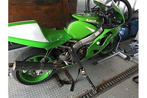 Amazon.com: Condor Motorcycle Ratchet Tie-down Straps for Wheel Chock or Trailer (Ratchet 1.5