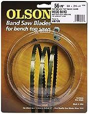 Olson Saw WB55359BL 6 Teeth Per Inch Band Saw Blade, 59.5 X 0.125 Inch