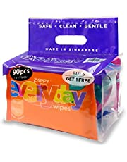 Zappy Baby Pure 30s Wipes Value Pack, 30 ct