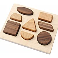 Deluxe Natural Wood Baby Toy Puzzle