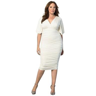 David\'s Bridal Rumor Ruched Plus Size Mother Of Bride/Groom Dress ...